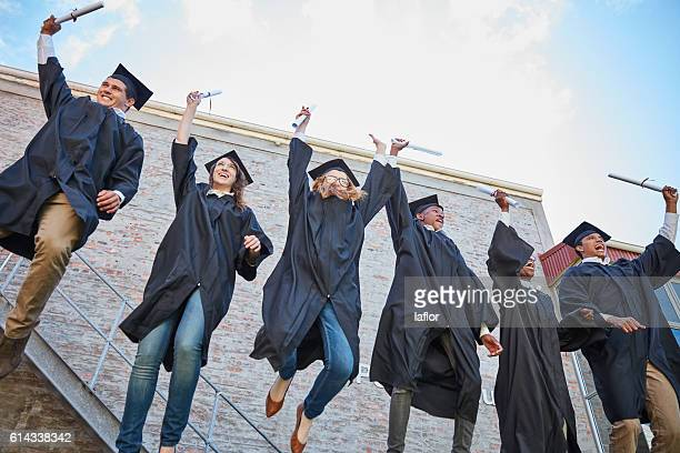 Graduation is a cause for celebration