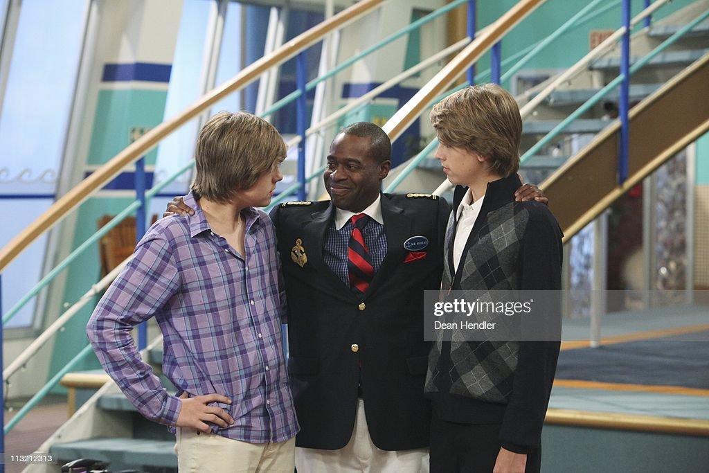 "Disney Channel's ""The Suite Life On Deck"" - Season Three : News Photo"