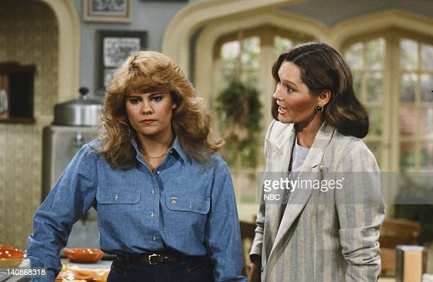 LIFE Graduation Part 1 2 Episodes 23 24 Pictured Lisa Whelchel as Blair Warner Marj Dusay as Monica Warner Photo by Ron Tom/NBC/NBCU Photo Bank