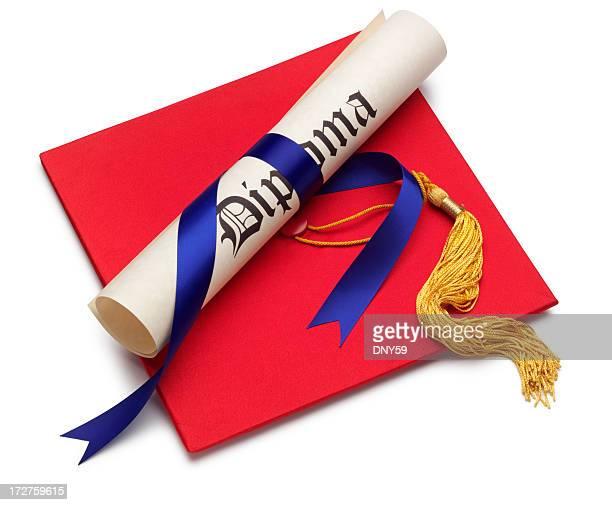 celebrazione della laurea - diploma foto e immagini stock