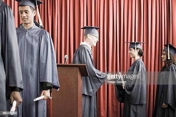 graduation - indian college girls stock photos and pictures