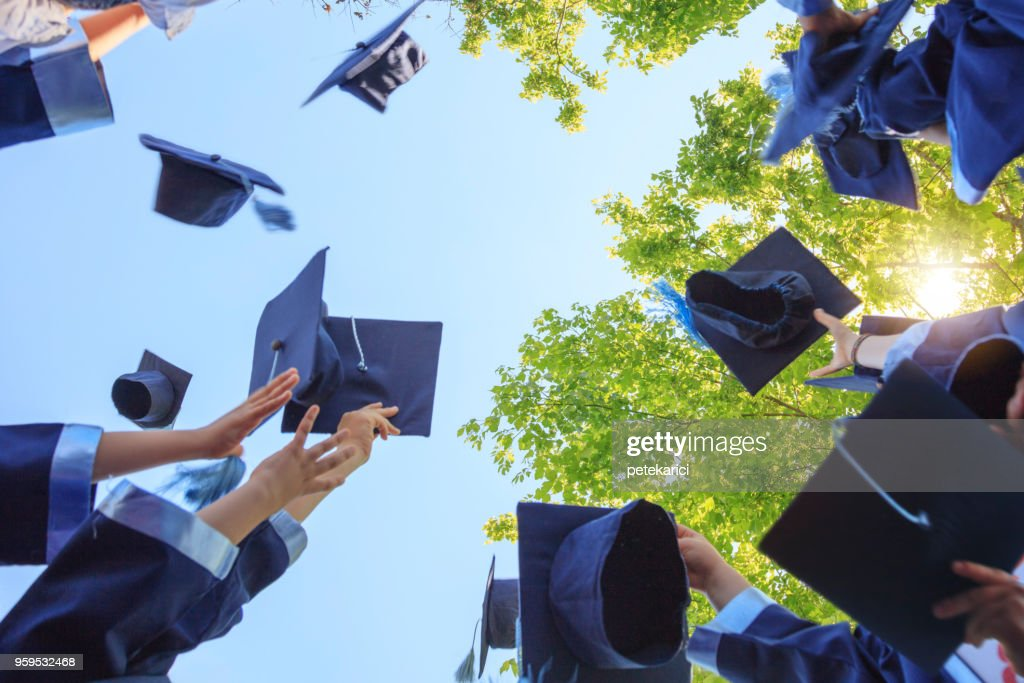 Graduation : Stock Photo
