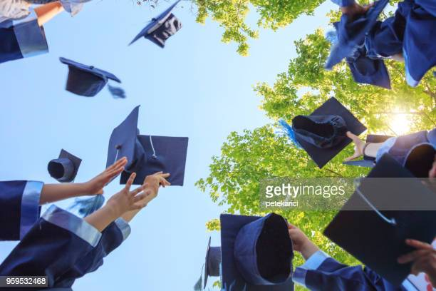 graduation - graduation clothing stock pictures, royalty-free photos & images