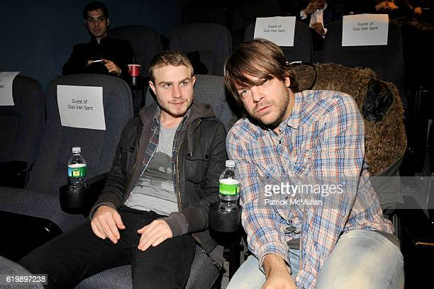 Grady Corbett and Jonathan attend THE CINEMA SOCIETY DETAILS host a screening of MILK at Landmark Sunshine Theater on November 18 2008 in New York...