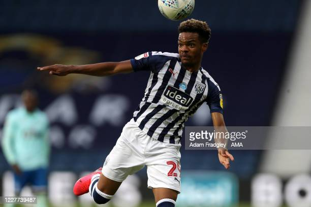 Grady Diangana of West Bromwich Albion during the Sky Bet Championship match between West Bromwich Albion and Queens Park Rangers at The Hawthorns on...