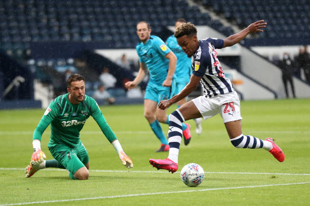 GBR: West Bromwich Albion v Derby County - Sky Bet Championship