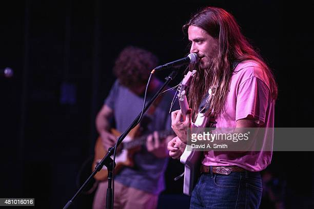 Grady 'Gravy' Wenrich of The Lonely Biscuits performs at Saturn Birmingham on July 16 2015 in Birmingham Alabama