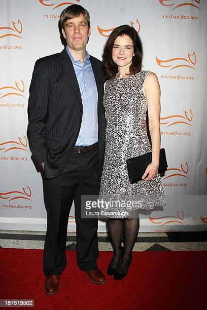 Grady Olsen and Betsy Brandt attend 2013 A Funny Thing Happened On The Way To Cure Parkinson's at The Waldorf=Astoria on November 9 2013 in New York...