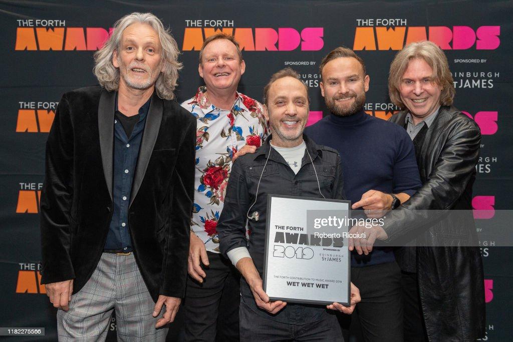 The Forth Awards Perform At Usher Hall, Edinburgh : News Photo