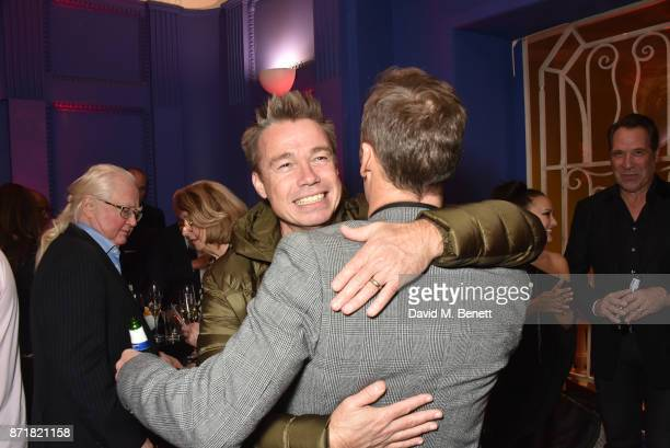 Graeme Le Saux and Lee Dixon attend the World Premiere of '89' at the Odeon Holloway on November 8 2017 in London England