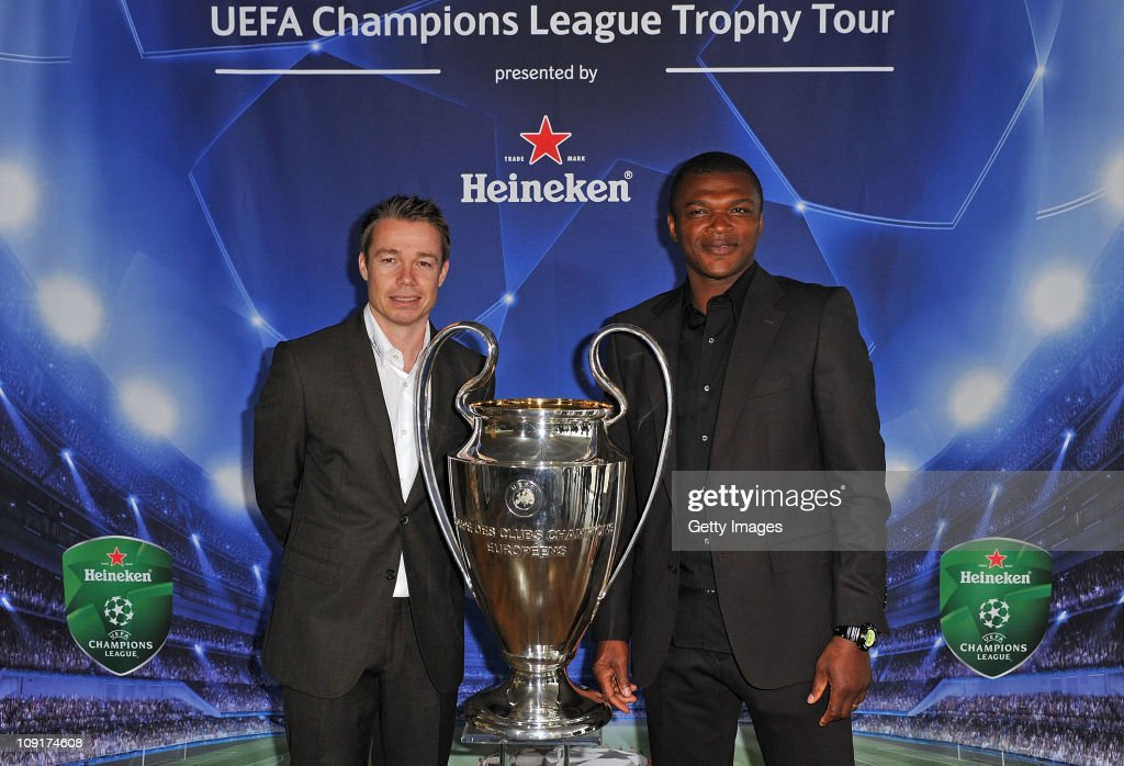 Official launch of the UEFA Champions League Trophy Tour presented by Heineken