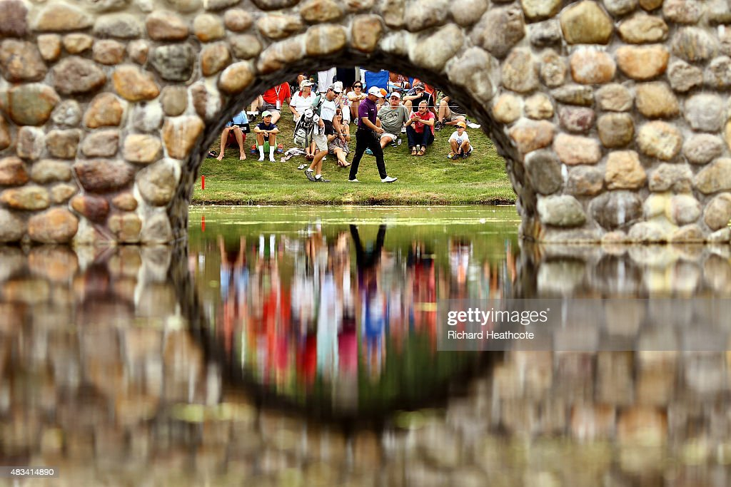 World Golf Championships-Bridgestone Invitational - Round Three