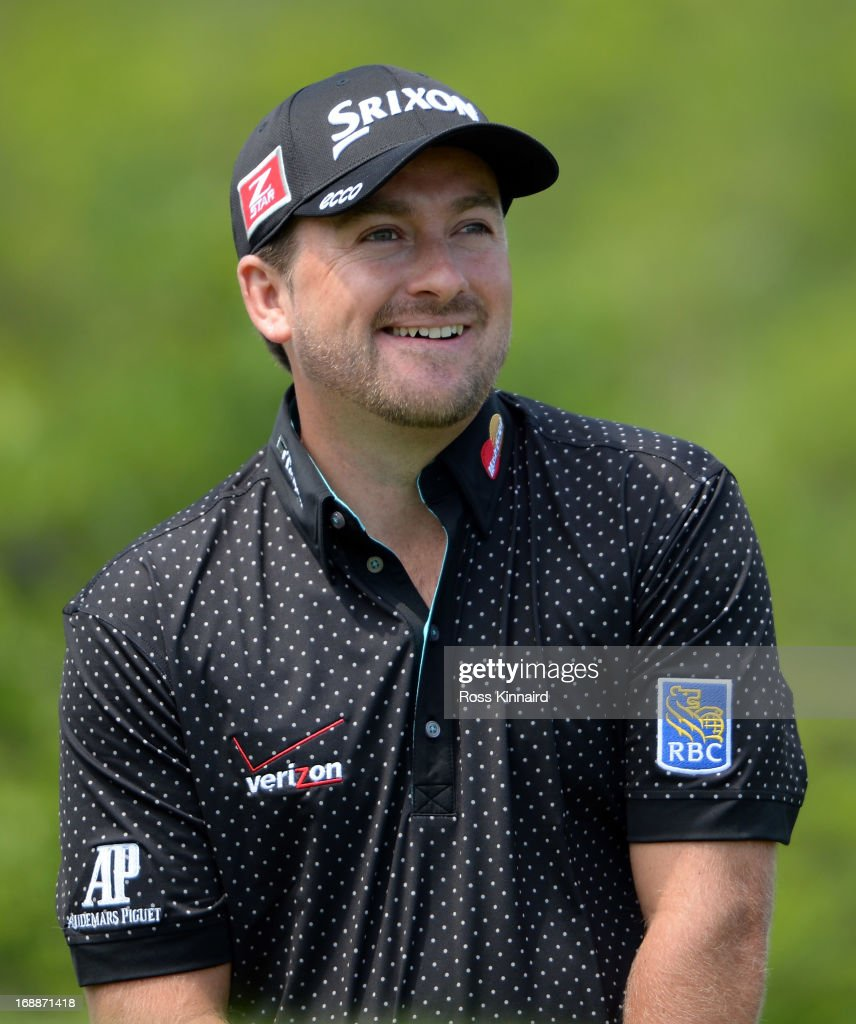 Graeme McDowell of Northern Ireland on day one of the Volvo World Match Play Championship at Thracian Cliffs Golf & Beach Resort on May 16, 2013 in Kavarna, Bulgaria.