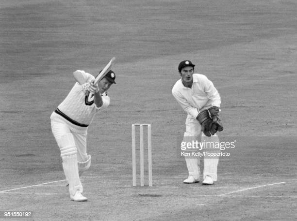 Graeme Pollock of South Africa batting for Rest of the World XI during the 3rd match of the fivematch series between England and a Rest of the World...