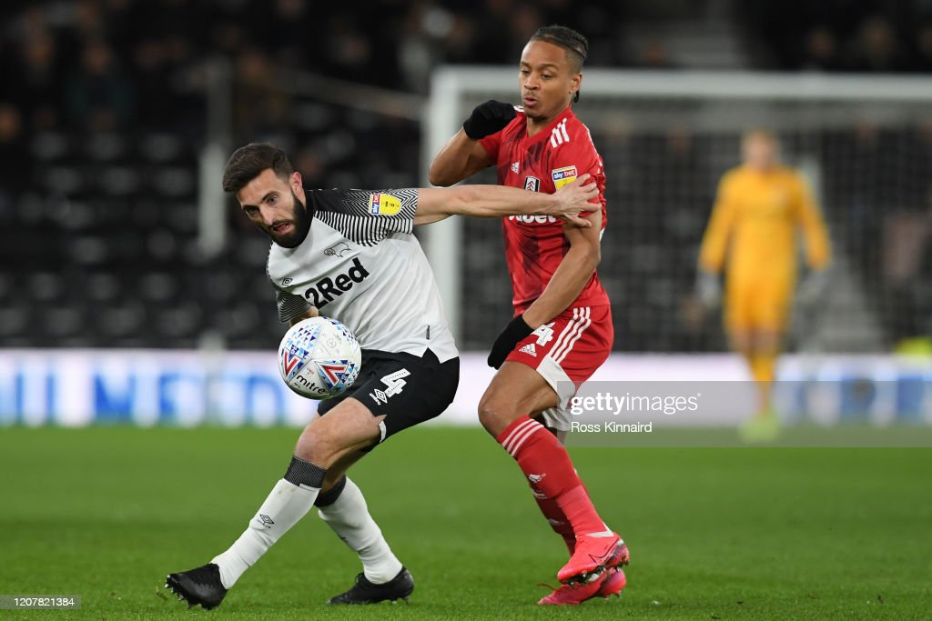 Derby County v Fulham - Sky Bet Championship : News Photo