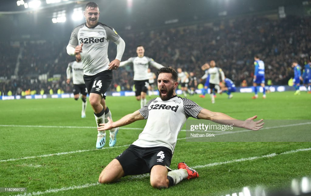 Derby County v Wigan Athletic - Sky Bet Championship : News Photo