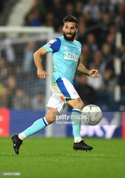 Graeme Shinnie of Derby County during the Sky Bet Championship match between West Bromwich Albion and Derby County at The Hawthorns on September 14,...