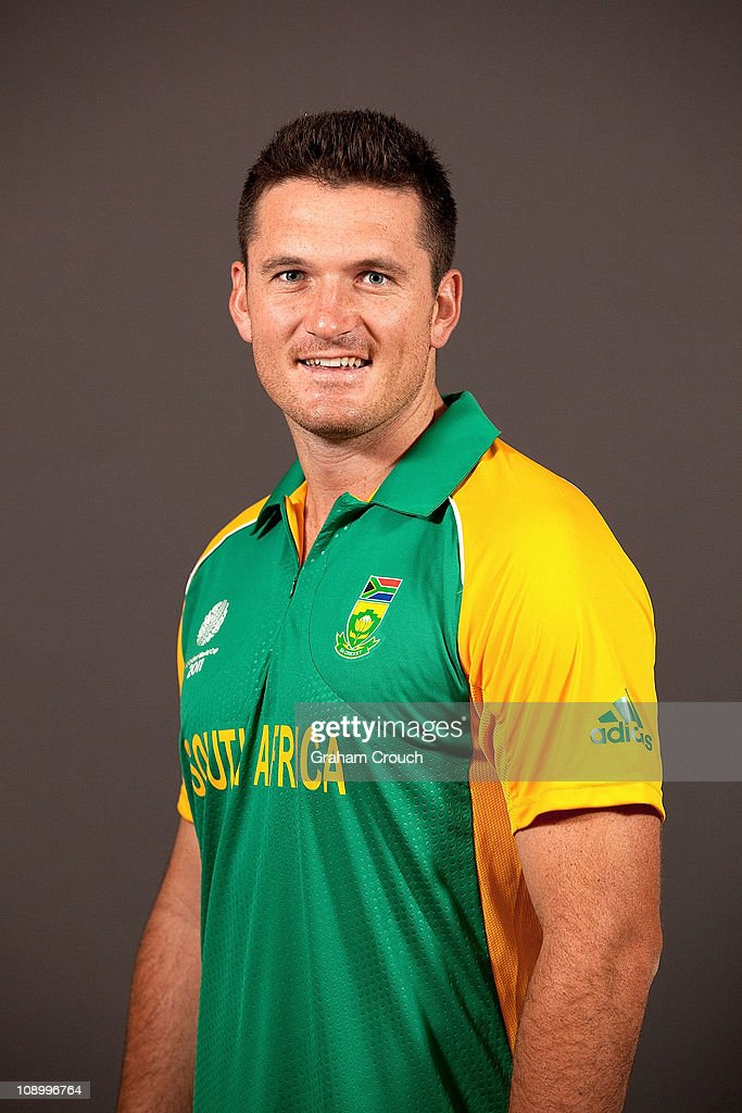 Graeme Smith, Captain of South Africa poses during a portrait session ahead of the 2011 ICC World Cup at the Sheraton Hotel and Towers on February 11, 2011 in Chennai, India.
