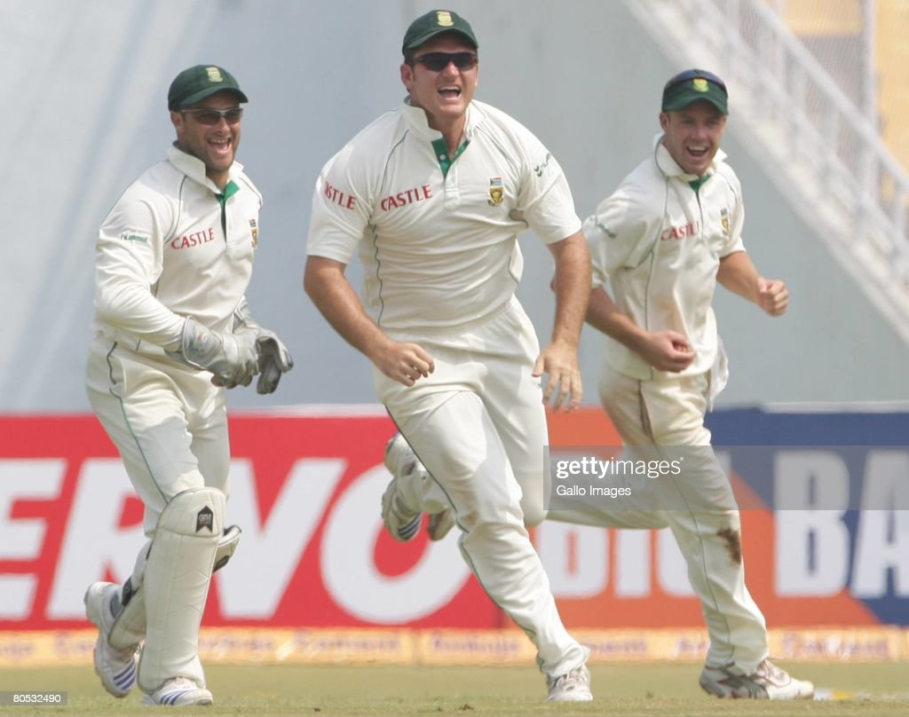 Second Test - India v South Africa: Day 3 : News Photo