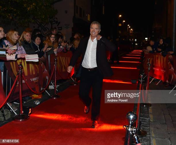 Graeme Souness arrives at the Kenny film premiere at the FACT cinema on November 15 2017 in Liverpool England
