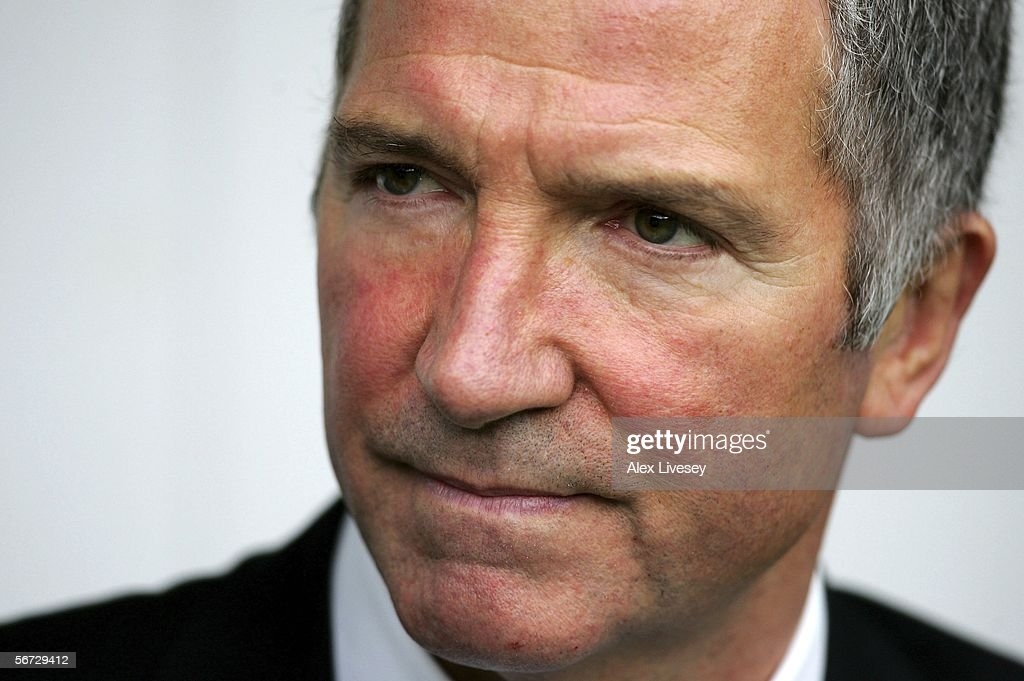 Graeme Souness the manager of Newcastle United before the Barclays Premiership match between Newcastle United and Sunderland at St James' Park on October 23, 2005 in Newcastle, England.