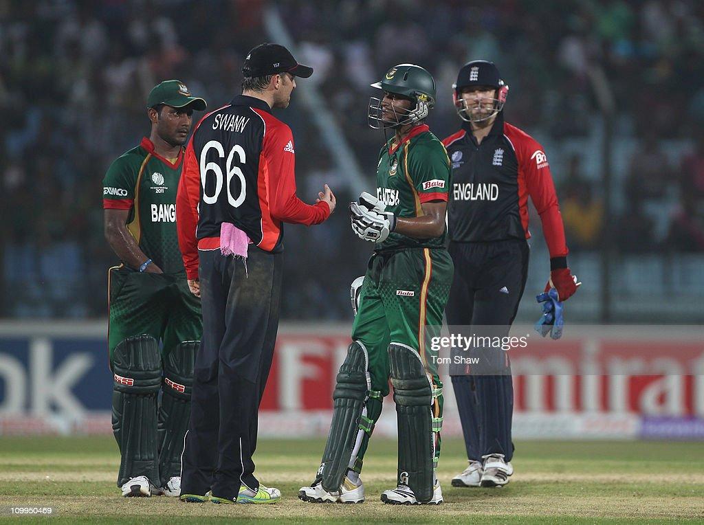 Bangladesh v England: Group B - 2011 ICC World Cup