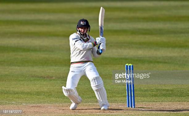 Graeme van Buuren of Gloucestershire bats during day four of the LV= County Championship match between Gloucestershire and Surrey at Bristol County...