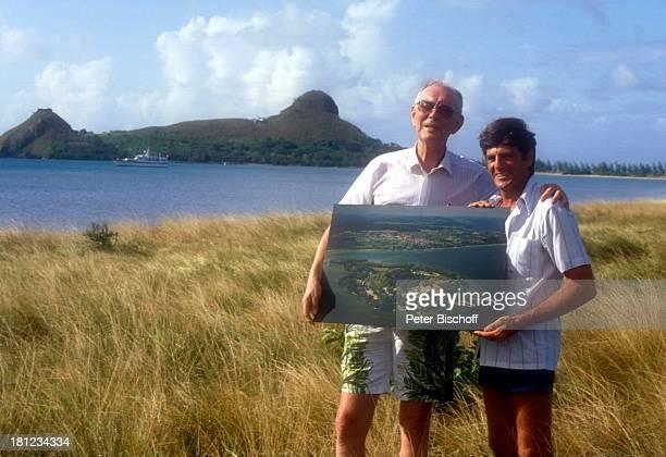 Graf Lennart Bernadotte Robert Devaux Gründung einer Schwesternschaft mit Nationalpark 'Pigeon Island' auf StLucia/Karibik Fotografie von der...
