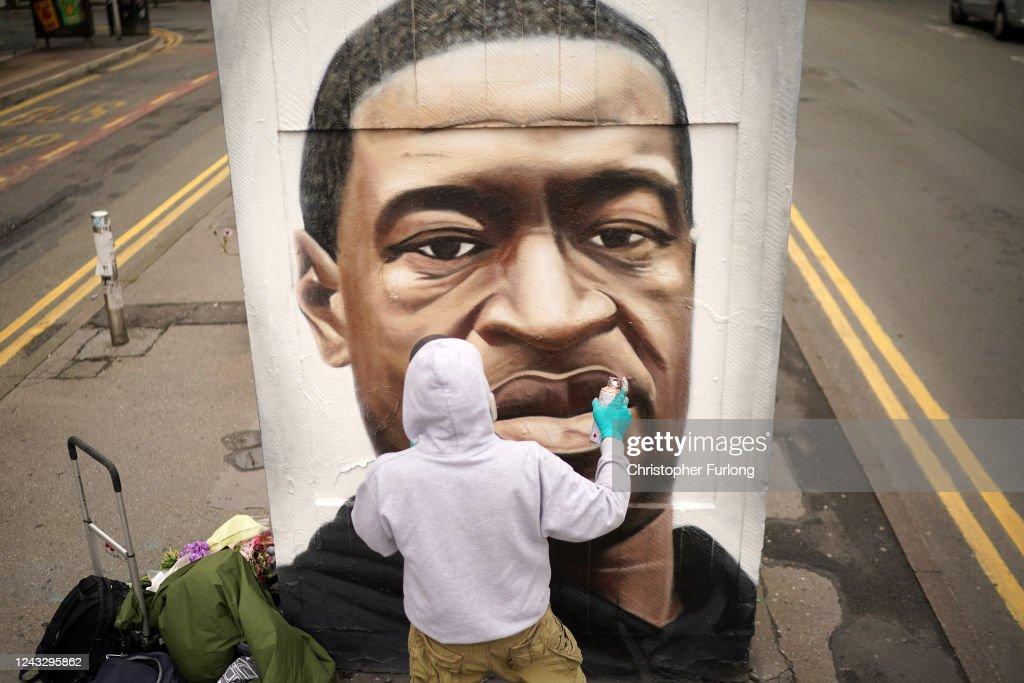 Black Lives Matter Movement Inspires Demonstrations In UK : News Photo
