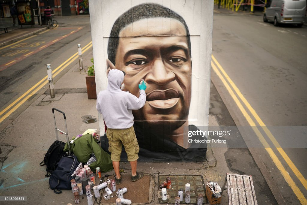 Black Lives Matter Movement Inspires Demonstrations In UK : ニュース写真