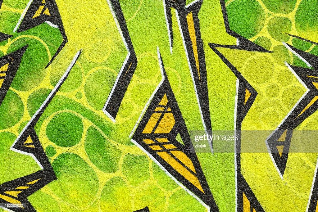 Graffiti Background : Stock Photo