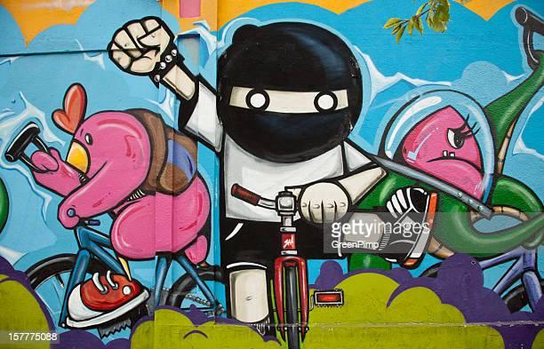 Graffiti Bikers