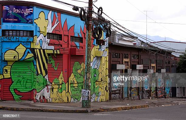 Graffiti buildings