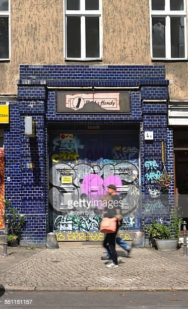 Graffiti Forster Strasse Kreuzberg Berlin Deutschland