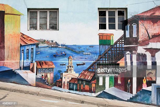 Graffiti de valparaíso