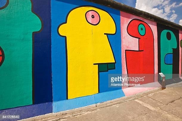 Berlin Wall Graffiti Stock Photos and Pictures | Getty Images