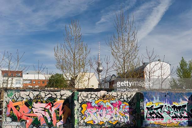 Graffiti on Berlin Wall, Berlin, Germany