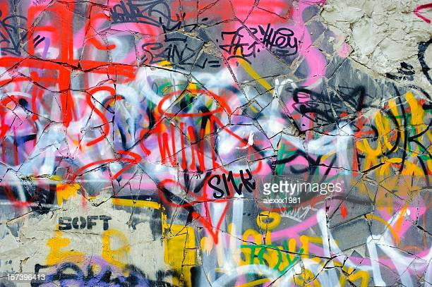 graffiti - vandalism stock pictures, royalty-free photos & images