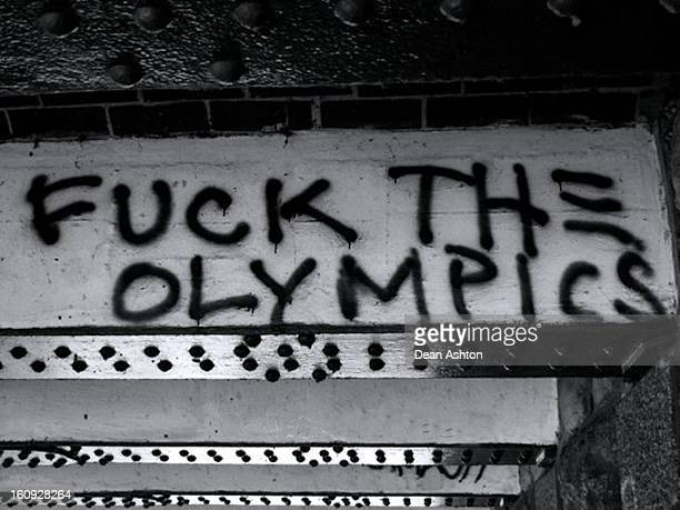 Graffiti review of the Olympics