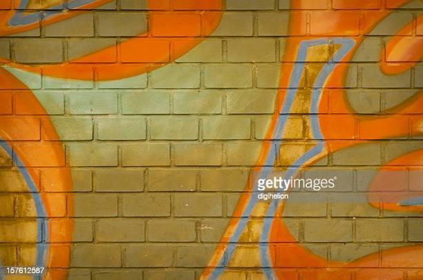 Graffiti wall Hintergrund