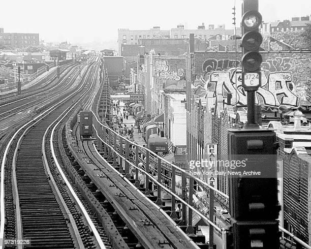 Graffitti crackdown on the line train in Queens