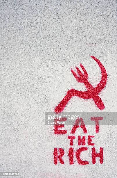 Graffitti on a wall