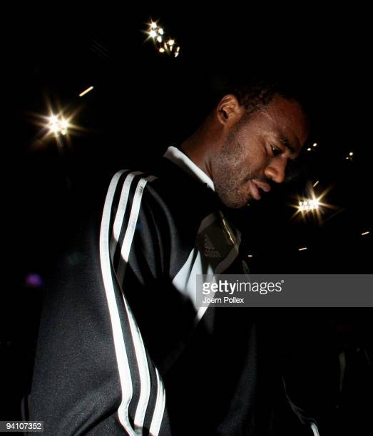 Grafite of Wolfsburg looks on during a training session at the Volkswagen Arena on December 7, 2009 in Wolfsburg, Germany. VfL Wolfsburg will face...