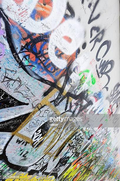 Grafitti an der Berliner Mauer
