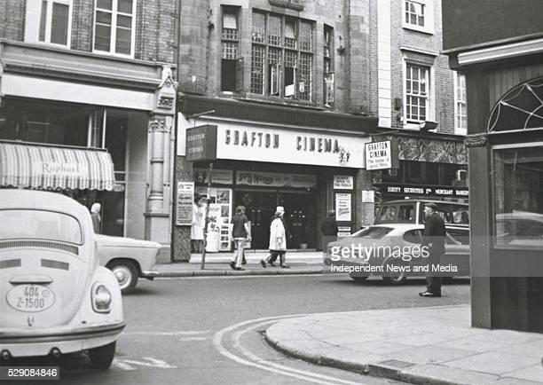 Grafton Cinema in Dublin circa 1971 Photographer Tom Burke