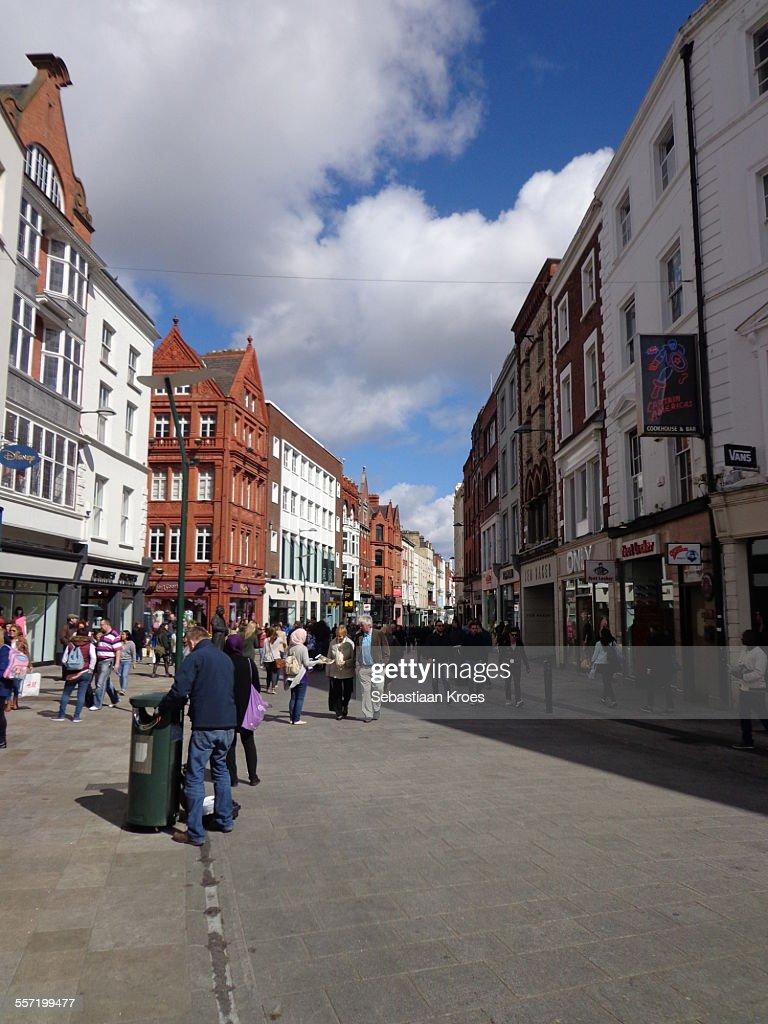 0bb1529144 Grafton Street Dublin Ireland Stock Photo