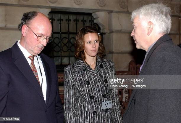 Graham and Alyssa Arscott talk with Brian Lloyd outside the Foreign and Commonwealth Office in central London Sergeant Somchai Visetsingha appeared...