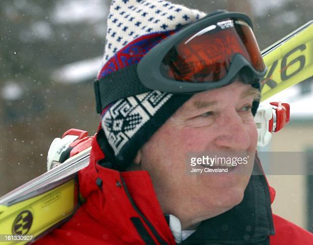 Graham Anderson of Ketchum Idaho one of the partners in the ownership of Eldora Mountain Resort Tuesday morning 2/25/03 Eldora ski area is located...