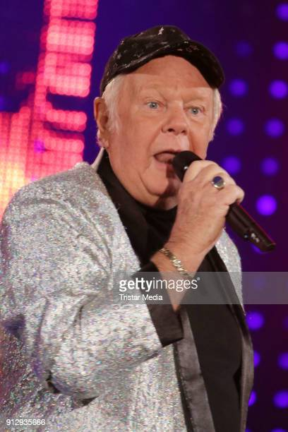 Graham Bonney during the TV Show 'Meine Schlagerwelt Die Party' hosted by Ross Antony on January 31 2018 in Leipzig Germany