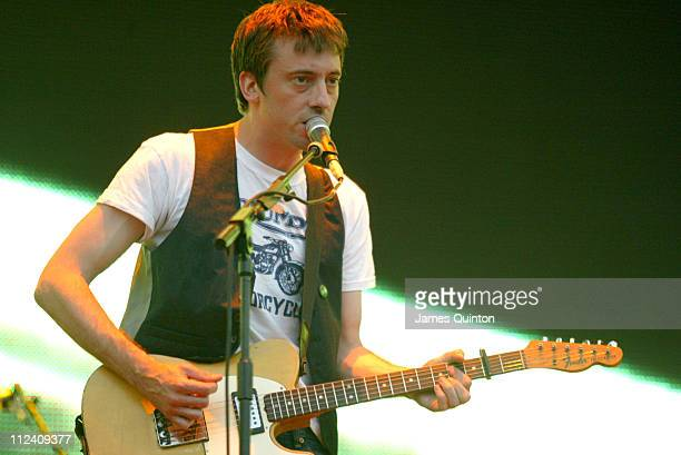 Graham Coxon during O2 Wireless Music Festival 2005 Day 1 at Hyde Park in London Great Britain